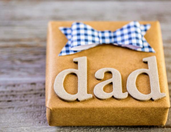 gift wrap pregnancy announcement