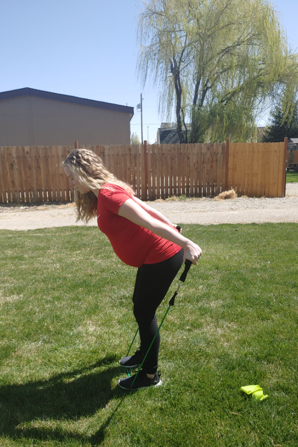 Resistance Band Full Body Pregnancy Workout