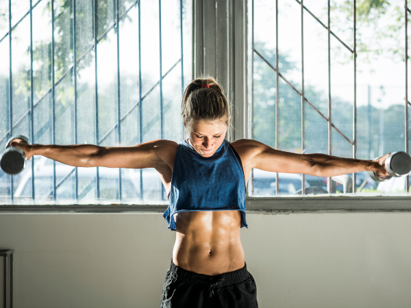 4 exercises for sexy shoulders