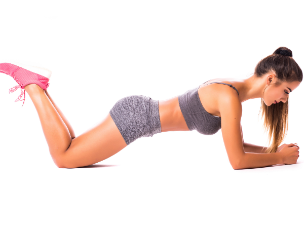 modified plank for a 6 minute plank workout