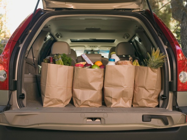 lower your grocery bill to save money on a tight budget